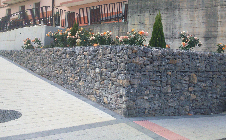 Muro de gaviones precio stunning estupenda fuente for Muro de contencion precio